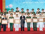 陈大光出席国防部举行的科技领域胡志明奖颁奖仪式