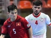 2017年亚洲U20五人制足球锦标赛:越南队取得开门红
