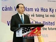 国家主席陈大光:合作促发展继续成为越美关系的引擎
