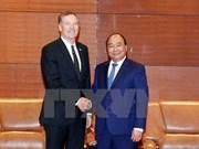 越南政府总理阮春福会见美国贸易代表罗伯特•莱特希泽