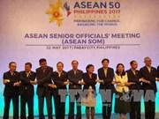 东盟高官会在菲律宾举行 讨论落实第30届东盟峰会共识的措施