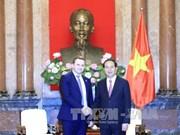 国家主席陈大光会见俄罗斯经济发展部长奥列什金