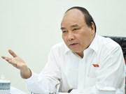 阮春福总理主持召开2017年增长情景会议