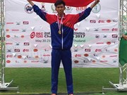 2017年亚洲青少年田径锦标赛:高武玉龙夺金