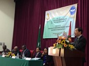 越南加强与非洲各国的合作关系