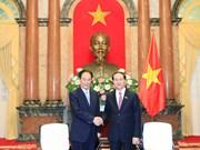 陈大光主席:越通社和新华社应为进一步深化越中两国友好感情和互相信任、互相了解做出贡献