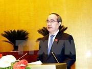 阮善仁被选为胡志明市国会代表团团长