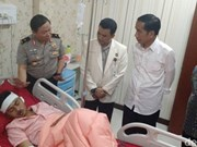 印尼首都一公交车站两起爆炸:警方逮捕三名嫌疑人