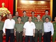 阮春福总理:公安部门要主动掌握情况,认清危害国家经济的威胁,当好党和国家参谋助手
