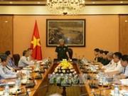 越南国防部副部长阮志咏会见越南驻外首席代表