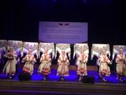 白俄罗斯歌舞剧院赴老街省表演