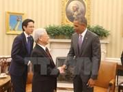 阮春福访美之旅:美国报纸指出推动越美关系发展的各战略性因素