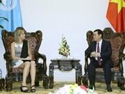 政府副总理王廷惠会见荷兰王后马克西玛