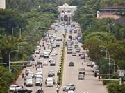 老挝首都万象至巴色高速公路建设项目正式启动