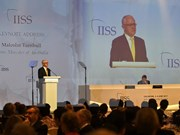 第16届香格里拉对话:充分发挥东盟在引导区域安全合作机制中的作用