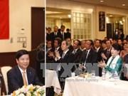 阮春福总理探访越南驻日本大使馆   与旅日越侨代表会面