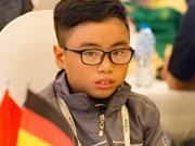 2017年世界青少年国际象棋锦标赛:范陈家福夺得U8超快棋银牌