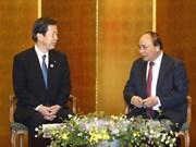 阮春福总理会见日本各地方和各政治社会组织领导
