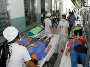 越南林同省卫生厅领导就41名旅客疑似食物中毒事件做出正式回应