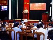 北部各省(市)委和中央直属机关党委报告员会议在河内市举行