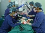 越南为一名皮肤癌患者成功实施面部整形手术