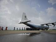 越南领导人就缅甸一架军用飞机失事向缅甸领导人致慰问电