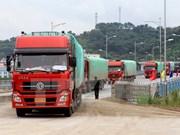 今年前5年越南老街国际口岸出口额猛增
