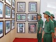 """""""黄沙和长沙归属越南:历史证据和法律依据"""" 资料图片展在宁平省举行"""