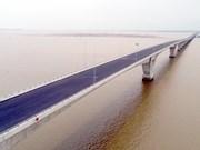 越南最长的跨海大桥将于今年9月投入使用