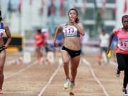 2017年泰国田径公开赛:黎秀征获得女子100米跑金牌