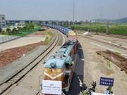 越南至中国昆明国际货运班列正式开通