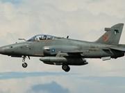 马来西亚训一架训练机失踪