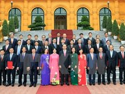 越南国家主席陈大光任命22名驻外大使