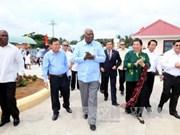 古巴全国人民政权代表大会高级代表团访问槟椥省