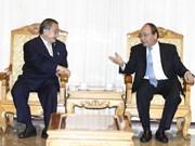 阮春福总理会见泰国TCC集团董事局主席苏旭明