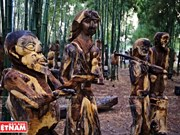 民间木雕是西原少数民族悠久的艺术类型