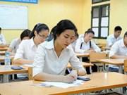 越南2017年国家高中毕业和大学入学统一考试共有866005名考生报名参加