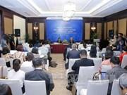 日本国家旅游局(JNTO)副总局长Yasuto Kawarabayashi就促进旅游可持续发展措施接受越通社记者采访