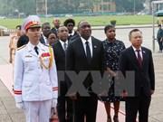 海地共和国参议院议长尤里•拉托尔蒂圆满结束对越南的正式访问