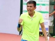 2017年泰国男网F3未来赛:李黄南取得二连胜