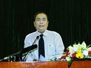 陈青敏担任第八届越南祖国阵线中央委员会主席