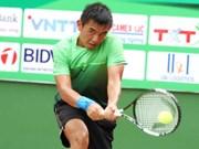 李黄南晋级2017年泰国男网F3未来赛决赛