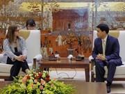 河内市人民委员会主席阮德钟会见以色列驻越大使