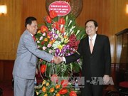 陈青敏会见柬埔寨祖国发展团结阵线代表团