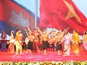 越南与柬埔寨建立外交关系50周年纪念大会在河内举行