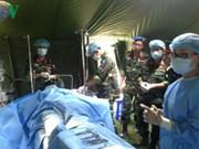 越南二级野战医院随时执行联合国南苏丹特派团的任务