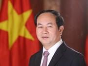 越南国家主席陈大光访俄前夕接受该国主流媒体的采访