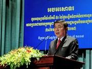 越柬建交50周年纪念典礼在胡志明市举行