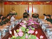 越老两国军队青年加强合作