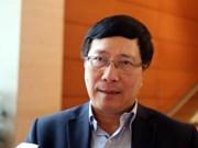 越南政府副总理兼外长范平明即将访问印度并出席东盟—印度对话会